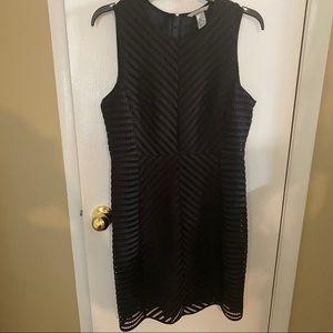 H&M Black Sleeveless Cocktail Dress Size 12